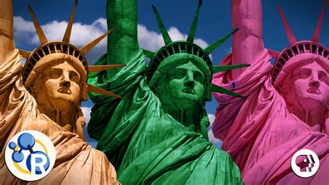 original statue of liberty color the statue of liberty s true colors