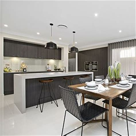 display home interiors don t be scared to mix and match different wood timber tones in a room kitchen by metricon