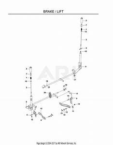 Poulan 541zx   Rear Mower Lift