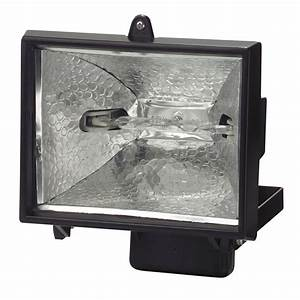 Arlec v w halogen remote controlled security flood light