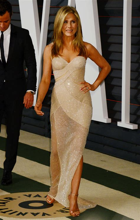 Jennifer Aniston Vanity Fair Oscar Party 2015
