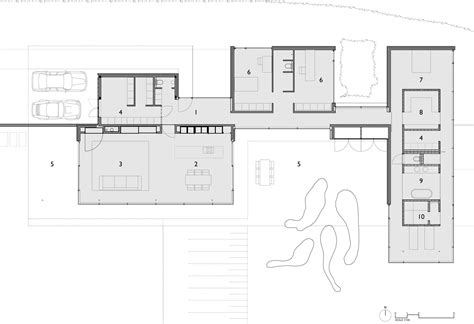 contemporary plan house faes by hvh architecten keribrownhomes