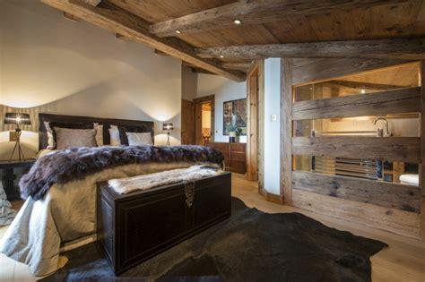 chambre chalet de luxe déco chalet montagne 99 idées pour la chambre à coucher