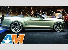SEMA 2014 Legend Chip Foose Builds 2015 Mustang wMMD
