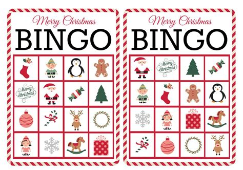 We did not find results for: 11 Free, Printable Christmas Bingo Games for the Family