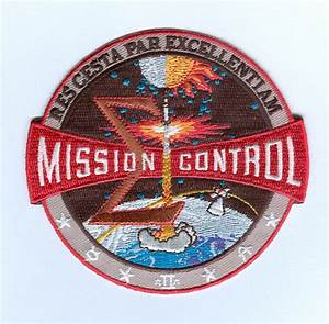 space mission patches | nasa mission control patch apollo ...