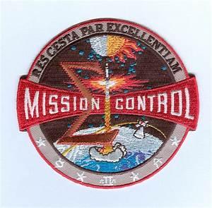 Apollo NASA Mission Control Patch
