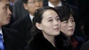Kim Jong Un's sister shakes hands with South Korean leader ...