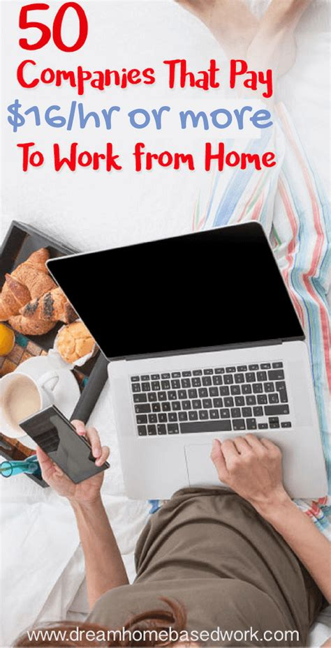 26774 big companies with work from home work from home the 044505 50 work from home companies that pay 16 hourly or more
