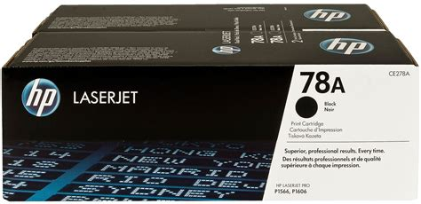 HP 78A Black Dual Pack CE278AD