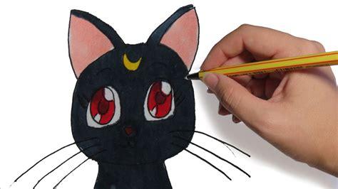 como dibujar anime luna de sailor moon aprender