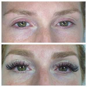 Eyelash extensions, before and after | M A K E U P & J E W ...
