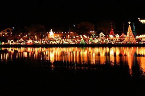 marble falls christmas light display over a million