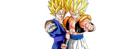 Portada Para Animeid By Kauxofdeath Vegetto Y Gogeta Render Hd Portadas By Kauxofdeath On