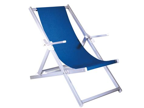 chaise plage relax chaise longue de plage en aluminium
