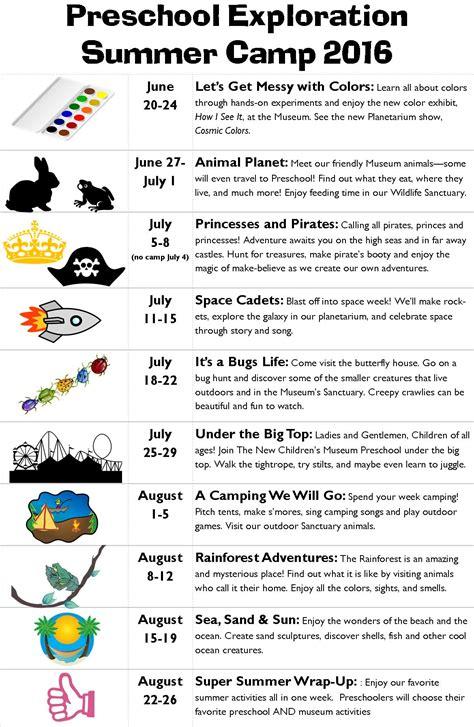 summer theme lesson plans for preschoolers summer camp theme ideas for preschoolers sailing the 282