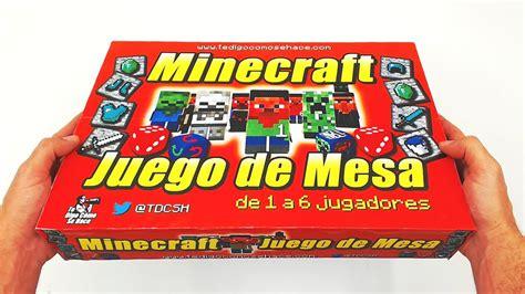 Juego De Mesa Inspirado En Minecraft (caja)