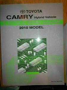 2010 Toyota Camry Hybrid Electrical Wiring Diagram Service
