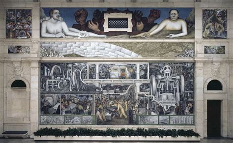 the detroit industry murals in detroit s rivera and kahlo exhibit a portrait of a resilient city kgou