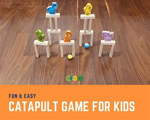 Fun  U0026 Easy Catapult Target Game For Kids