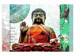 Buddha Bilder Gemalt : dieses bild von buddha bringt achtsamkeit und frieden ~ Markanthonyermac.com Haus und Dekorationen