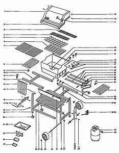 Weber Genesis 2000 Gas Grill Parts