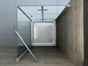 Dusche Ohne Duschtasse : helto 90 x 75 cm glas dusche duschkabine duschwand duschabtrennung eckeinstieg ebay ~ Indierocktalk.com Haus und Dekorationen
