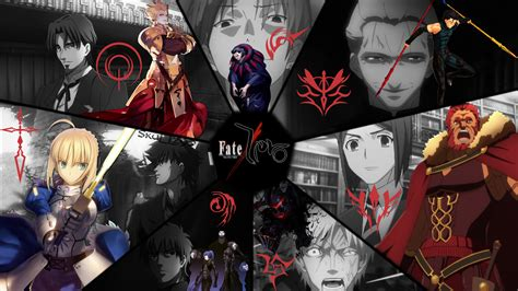 reddit anime fate series watch order fate zero masters and servants wallpaper by skullz95