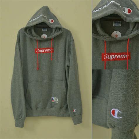 Harga Jaket Merk Supreme jual jaket hoodie supreme chion di lapak epic store