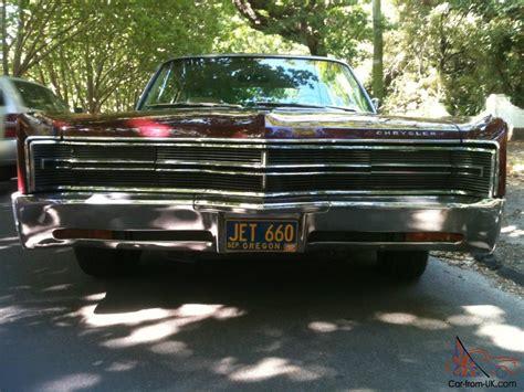 1968 Chrysler 300 2 Door Hardtop 440 Floor Shift In In