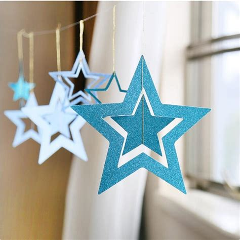 Inexpensive wall decor ideas for your room. 1Set Classical Hollow Paper Garlands Christmas Decor Wedding Party Room Door Festival Star ...