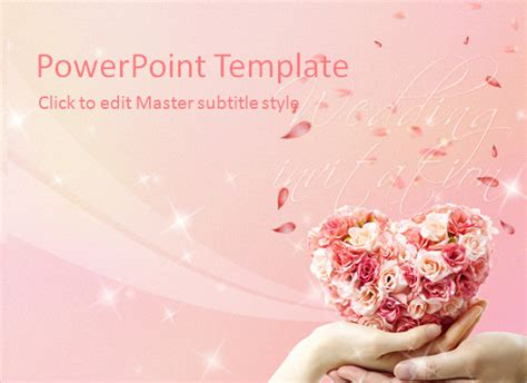 sample wedding powerpoint templates   sample