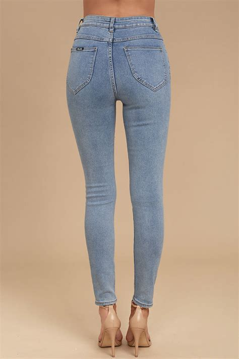 light wash high waisted skinny jeans rollas eastcoast staple light wash jeans high waisted
