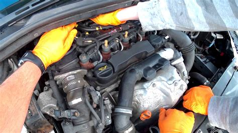 5 16 fuel line bleed and prime the diesel fuel filter on your citroën c4
