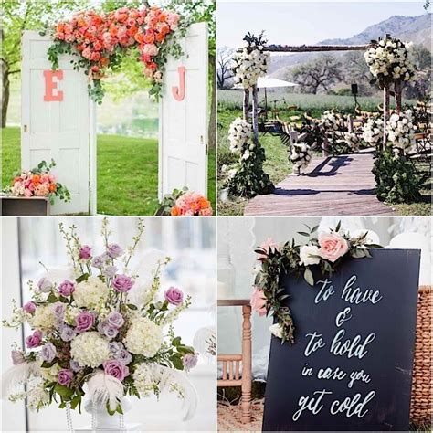 Garden Decoration Wedding by Garden Wedding Ceremony Ideas Modwedding