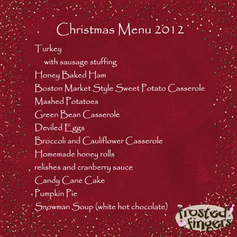 traditional christmas dinner menu holiday food shopping at aldi frosted fingers baking reviews chicago mom blogger