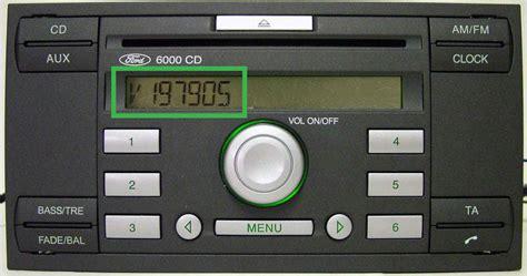 ford 6000 cd ford radio codes uk s no 1 radio code company