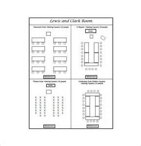 Wedding Seating Chart Template Word