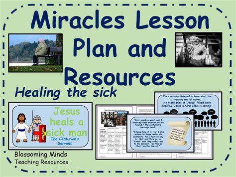 jesus miracles ks2 re plan and resources jesus heals
