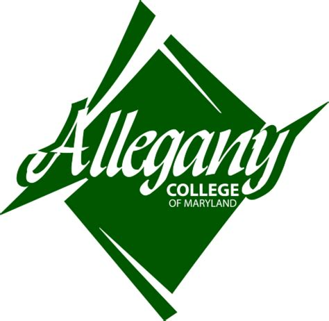 allegany college  maryland vector logo  page