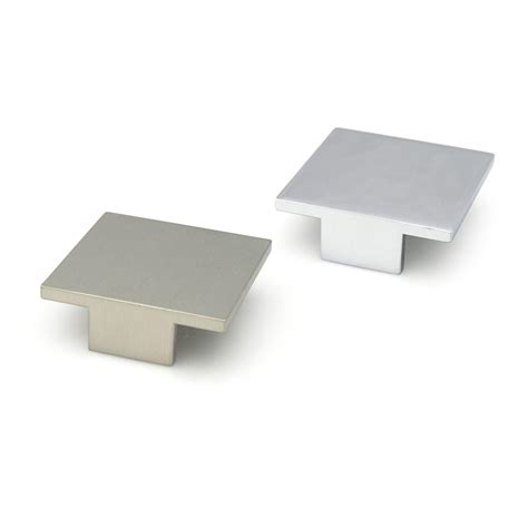 square chrome cabinet knobs chrome square cabinet knobs roselawnlutheran