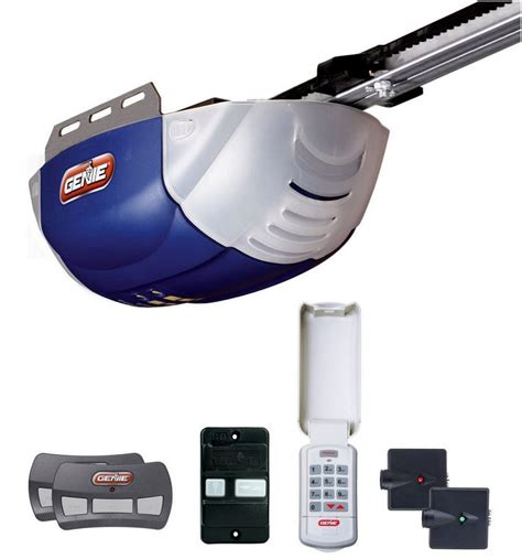 genie lift garage door opener genie quietlift 800 dc belt drive garage door opener 2042 tk