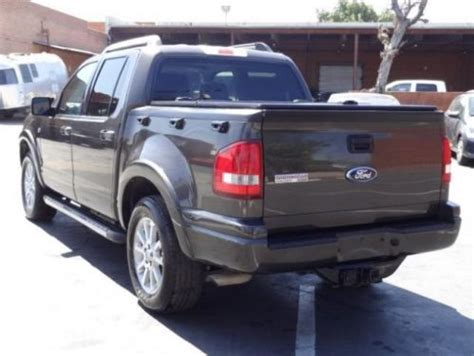 automobile air conditioning service 2007 ford explorer parental controls sell used 2007 ford explorer sport trac v8 limited damaged repairable salvage runs l k in