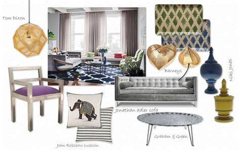 Interior Design Concept Board 1