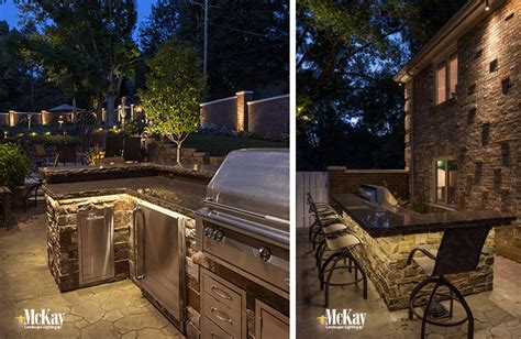 Outdoor Kitchen & Grill Lighting Ideas