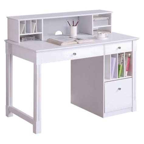 small white desk with hutch white desk with small hutch muebles pinterest