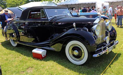 roll royce car 1950 file 1950 rolls royce silver wraith roadster by mulliner jpg