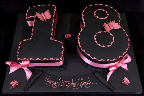 Birthday Cakes For Girls 18th