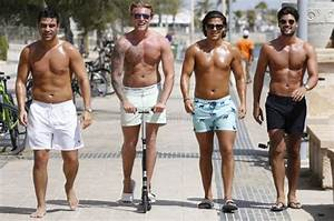 Here come the boys: TOWIE lads get oiled up for fun-filled ...