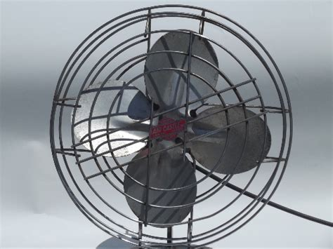 one stop fan shop machine age vintage air castle electric fan heavy